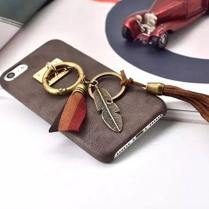 New iPhone 7 Plus Phone Case faux leather retro